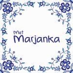 Logo van 'Met Marjanka'